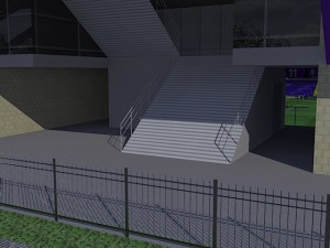 1階コンコース階段