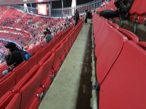 エミレーツスタジアムのシート