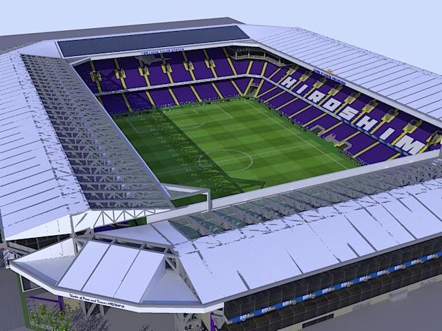 南から見たスタジアム 南から見たスタジアム サンフレッチェ広島サポーターブログ コンテンツへ移動