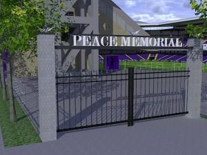 PEACE MEMORIAL ゲート