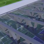 透明の屋根